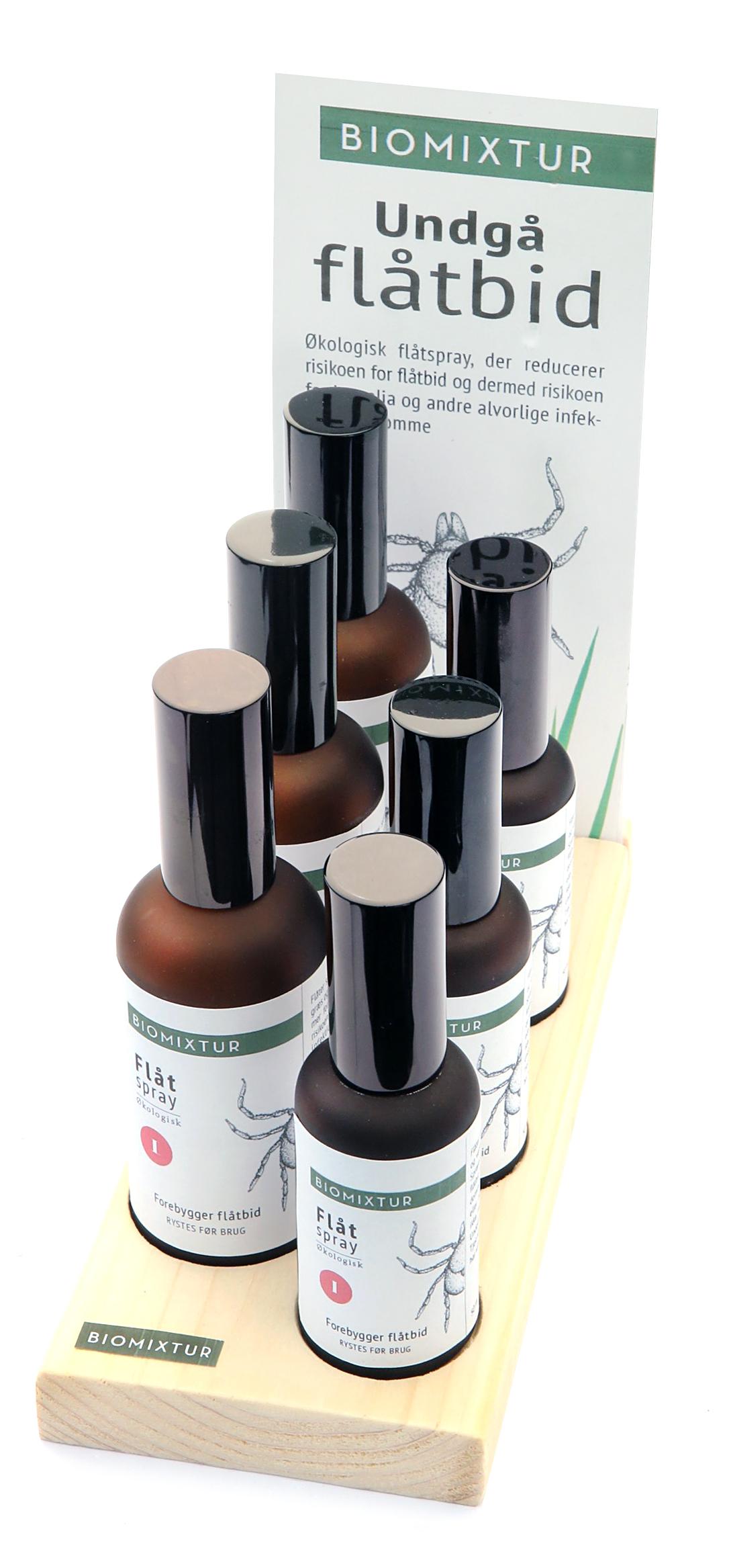 Biomixtur display (indgår i startkasse med 2 x 12 flasker samt brochurer)